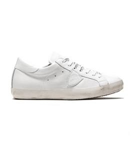 Philippe Model - Scarpe - Sneakers - sneaker in pelle paris blanc