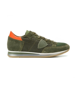 Philippe Model - Scarpe - Sneakers - sneaker in suede tropez perfore' vert