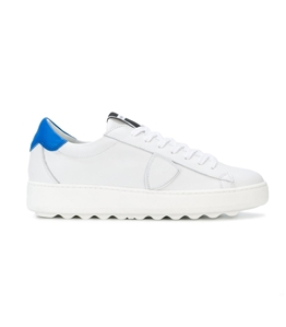 Philippe Model - Scarpe - Sneakers - sneaker in pelle madeleine blanc/bluette
