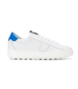 Philippe Model - Scarpe - Sneakers - sneaker in pelle madeleine blanc/bluette