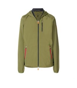 Save The Duck - Giubbotti - giacca con cappuccio maty6 mud green