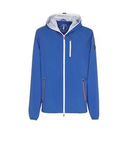 Save The Duck - Giubbotti - giacca con cappuccio maty6 star blu