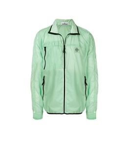 Stone Island - Giubbotti - lamy velour packable verde chiaro