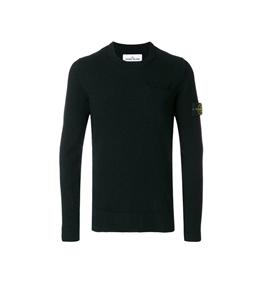 Stone Island - Maglie - maglia in cotone nero