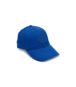 Stone Island - Cappelli - cappellino bluette
