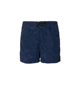 Stone Island - Costumi - short mare nylon metal inchiostro