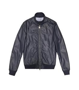 The Jack Leathers - Giubbotti - elvis leather jacket blu