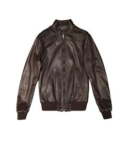 The Jack Leathers - Giubbotti - fresco leather reversible jacket marrone