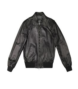 The Jack Leathers - Giubbotti - fresco leather reversible jacket nero
