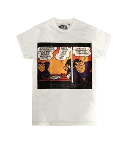 Bastille - T-Shirt - t-shirt con stampa seta gambadilegno bianca