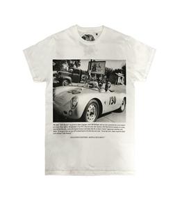Bastille - T-Shirt - t-shirt con stampa james 130 bianca