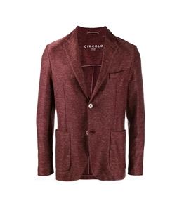 Circolo 1901 - Giacche - giacca 2 bottoni in lino-cotone mogano