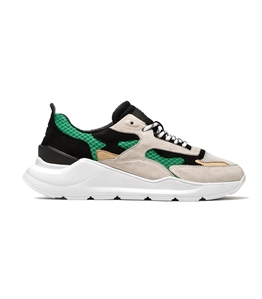 D.A.T.E. - Scarpe - Sneakers - fuga mash green