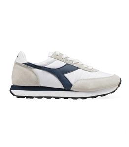 Diadora Heritage - Scarpe - Sneakers - koala h bianco/blu denim