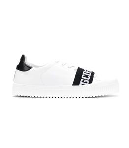 GCDS - Scarpe - Sneakers - logo sneakers white/black