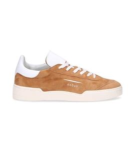Ghoud Venice - Scarpe - Sneakers - sneaker in suede cognac/white