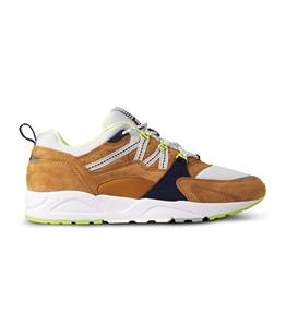 "Karhu - Scarpe - Sneakers - sneaker fusion 2.0""catch of the day"" pack - part 1 buckthorn brown/blu flower"