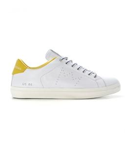 Leather Crown - Saldi - sneaker mlc06 white/sun