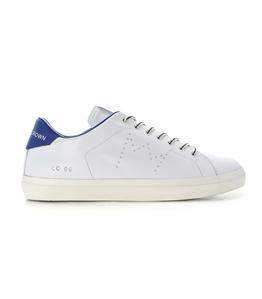 Leather Crown - Scarpe - Sneakers - sneaker mlc06 white/jeans