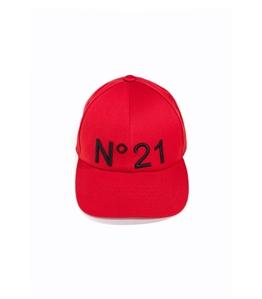N°21 - Cappelli - cappello da baseball con logo rosso
