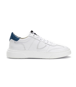 Philippe Model - Scarpe - Sneakers - temple - veau blanc bluette