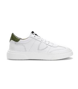 Philippe Model - Scarpe - Sneakers - temple - veau blanc militaire