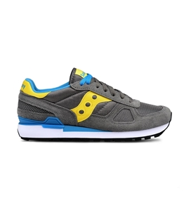 Saucony - Scarpe - Sneakers - sneakers shadow o' grey/yellow/white