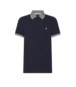 Save The Duck - Polo - polo dr050m pico8 navy blue