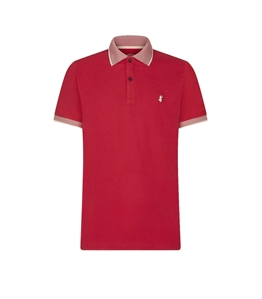 Save The Duck - Polo - polo dr050m pico8 tomato red