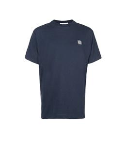 Stone Island - T-Shirt - t-shirt tinto fissato blu