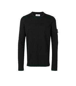 Stone Island - Maglie - maglia girocollo nero