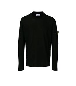 Stone Island - Maglie - maglia girocollo nera