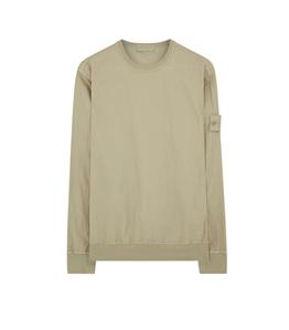 Stone Island - Felpe - ghost piece - cotton nylon tela beige