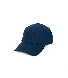 Stone Island - Cappelli - cappellino blu marine