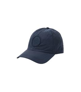 Stone Island - Cappelli - cappellino nylon metal blu marine