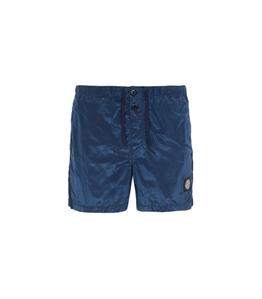 Stone Island - Costumi - short mare nylon metal blu marine