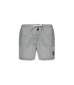 Stone Island - Costumi - short mare nylon metal grigio perla