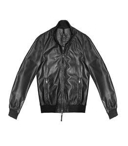 The Jack Leathers - Giubbotti - derek rib leather jacket nero