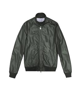 The Jack Leathers - Giubbotti - elvis leather jacket verde