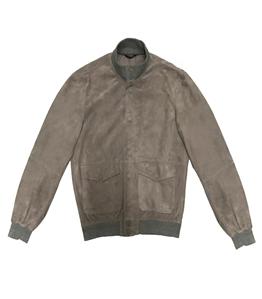 The Jack Leathers - Giubbotti - snap mark leather jacket grigio