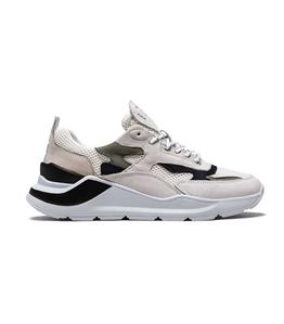 D.A.T.E. - Scarpe - Sneakers - fuga mesh white