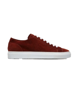 Doucal's - Scarpe - Sneakers - andrew sneaker in suede brick