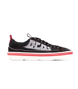 GCDS - Scarpe - Sneakers - sneakers hydra low top nero