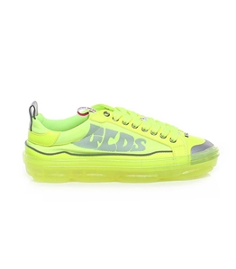 GCDS - Scarpe - Sneakers - sneakers hydra low top giallo fluo