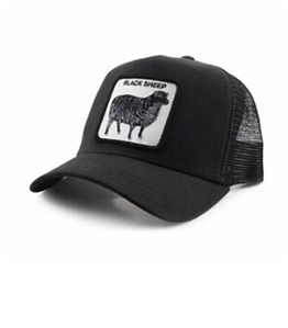 Goorin Bros - Cappelli - cappellino trucker blacksheep black