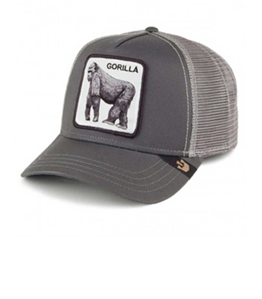 Goorin Bros - Cappelli - cappellino trucker gorilla grey