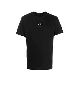 N°21 - T-Shirt - t-shirt con stampa nera