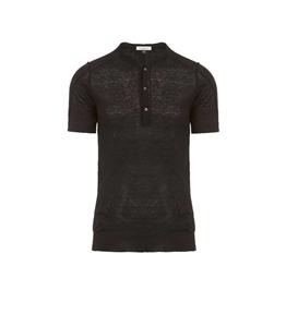 Paolo Pecora - Maglie - maglia girocollo nera