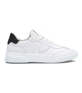 Philippe Model - Scarpe - Sneakers - temple s veau - blanc noir