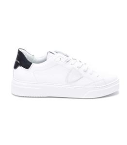 Philippe Model - Scarpe - Sneakers - temple s homme l u - veau blanc noir